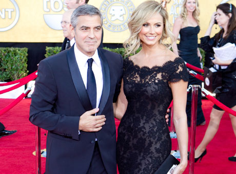 Джордж Клуни (George Clooney), Стейси Кейблер  (Stacy Keibler) / splashnews.com